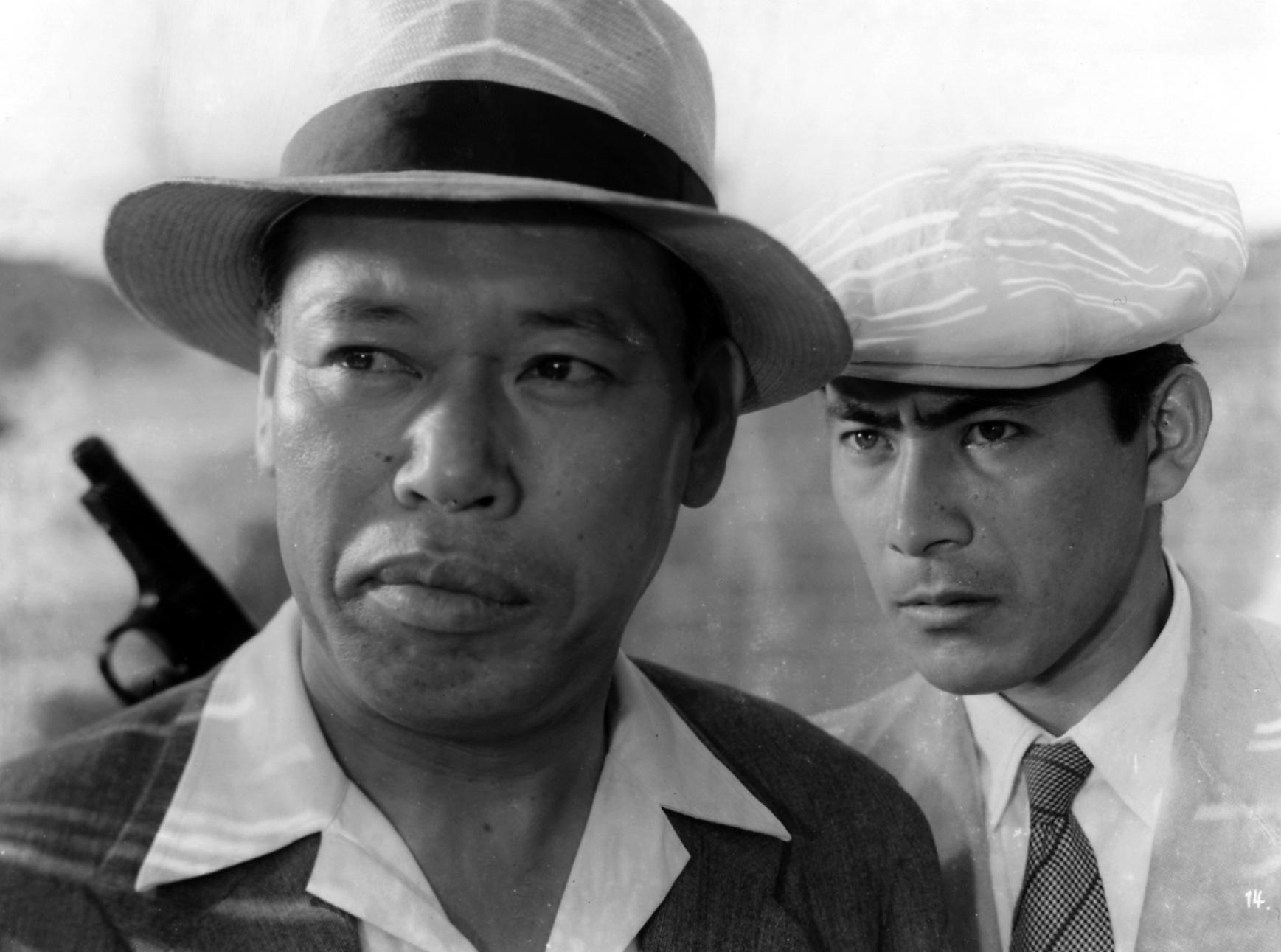 Takashi Shimura and Toshiro Mifune in Akira Kurosawa's STRAY DOG