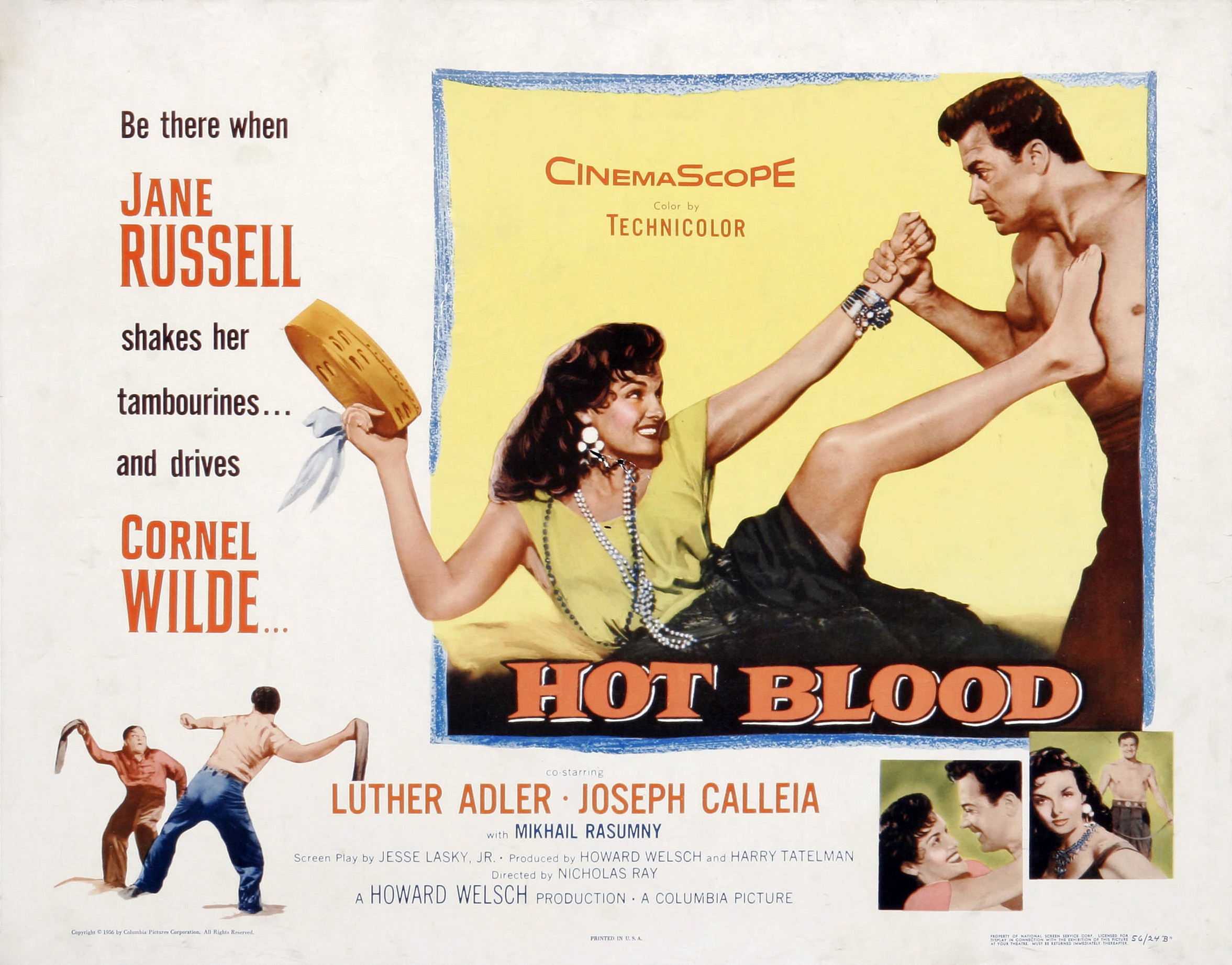 Poster - Hot Blood (1956)_02